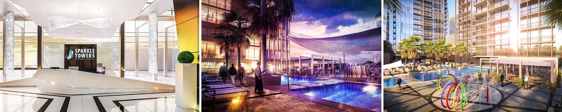 Sparkle Tower Dubai Marina