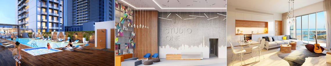 Studio One Apartments in Dubai Marina