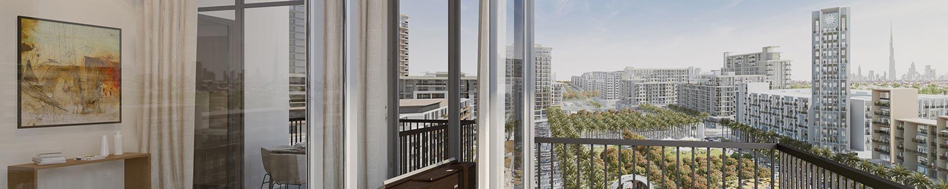 Warda II Apartments in Town Square Dubai