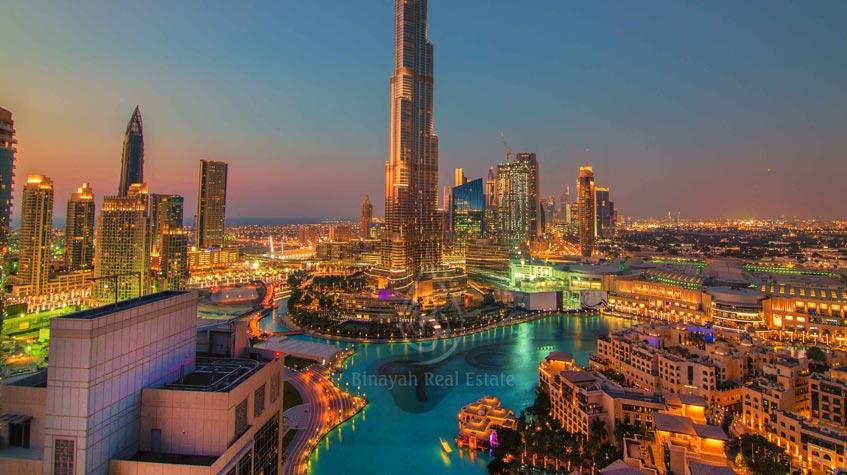 Damac Hotels in Downtown Dubai - Burj Khalifa View