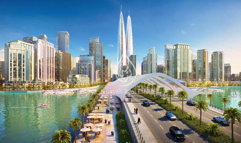 Twin towers to rise along Dubai Creek