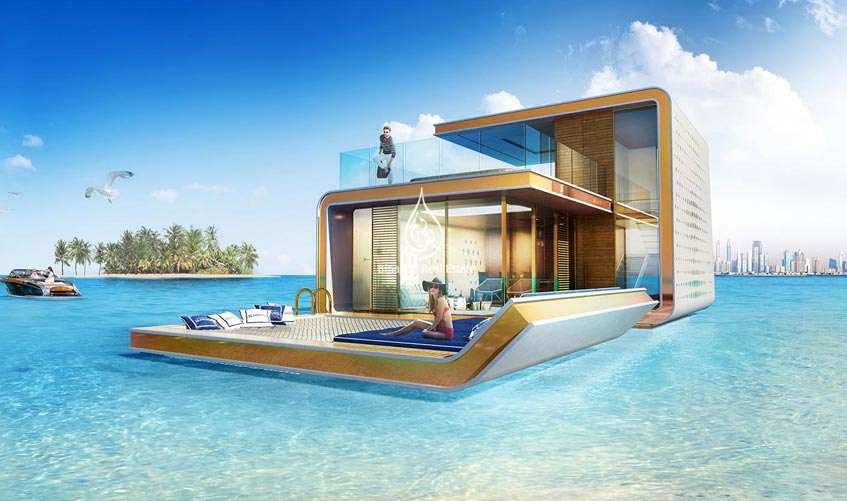 Underwater Homes Revealed in Dubai