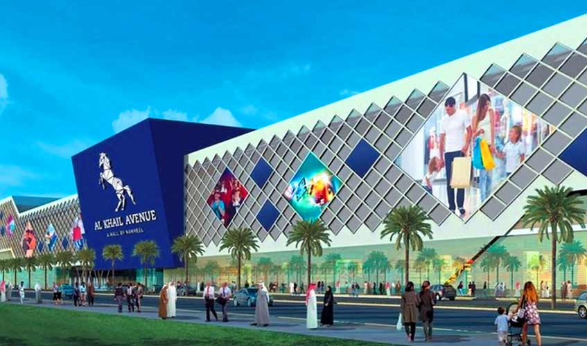 Al Khail Avenue Mall in Dubai