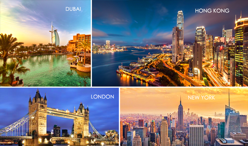 Office Rent in Dubai, London, New York and London