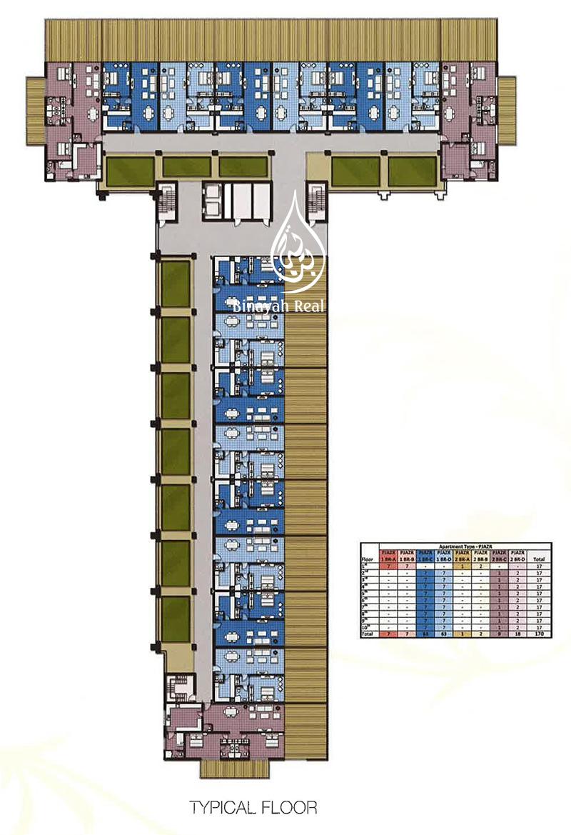 Palm jumeirah floor plans meze blog for Floor plans jumeirah islands