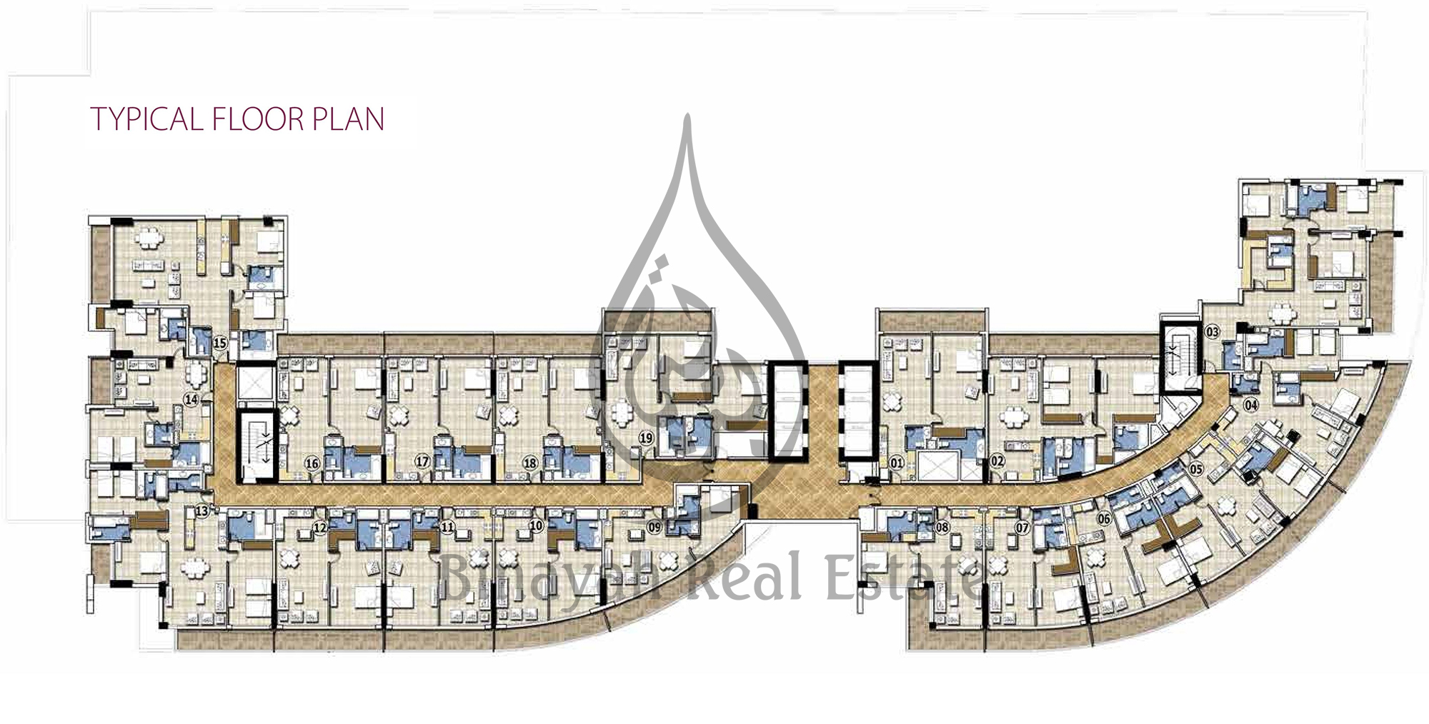Apartment for sale office space for rent properties in for Typical office floor plan