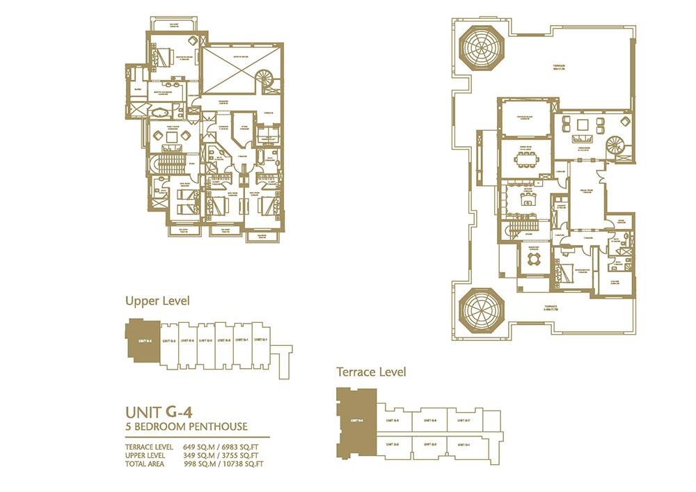 Apartments for sale villas for rent in palm jumeirah dubai for 4 unit apartment building plans pdf
