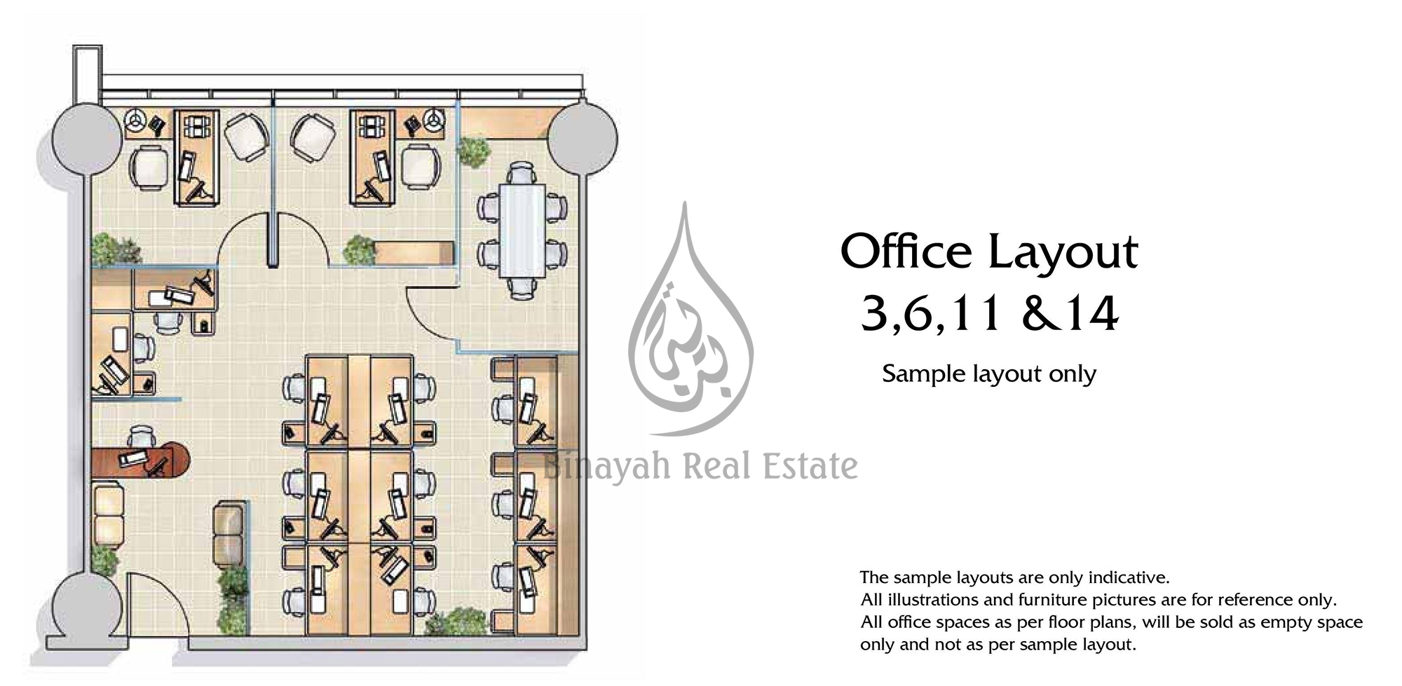 mayfair tower business bay floor plan