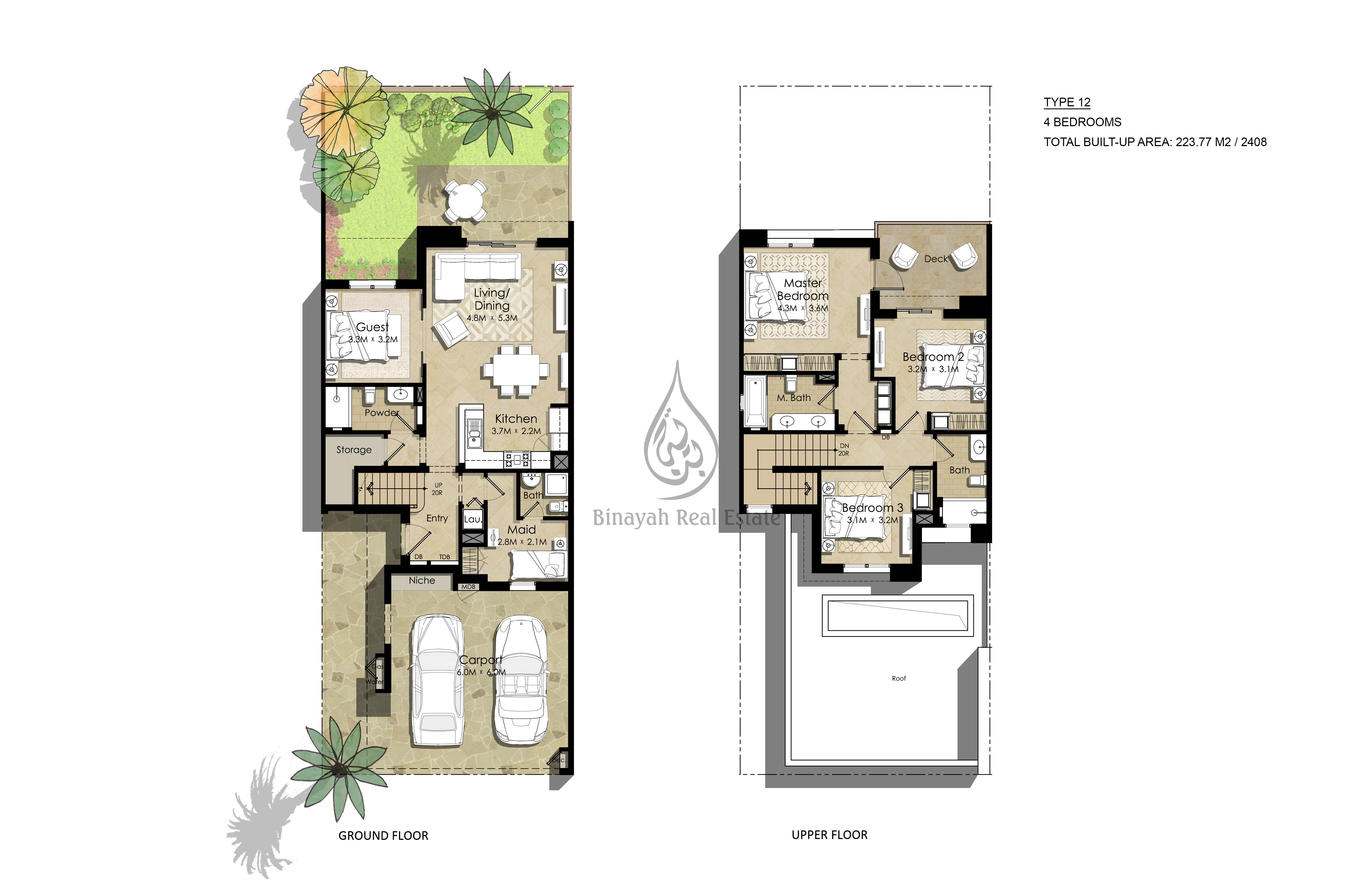 Town square dubai by nshama townhouses and apartments Townhouse design plans