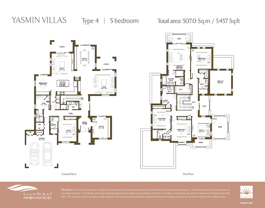 Villas for sale rent in arabian ranches dubai binayah for 4 bedroom villa plans