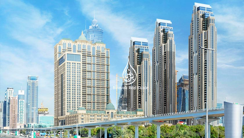 Al Habtoor City Sheikh Zayed Road in Dubai