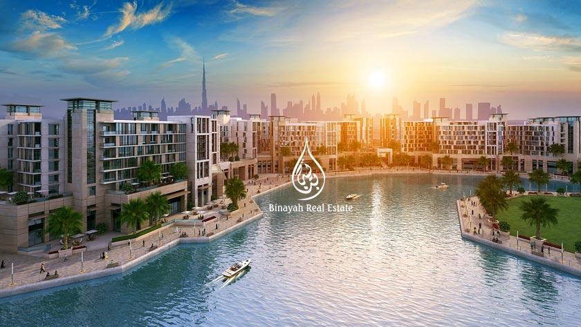 Dubai Wharf in Culture Village
