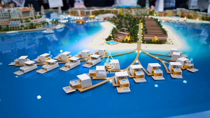 Floating SeaHorse in Dubai World Island