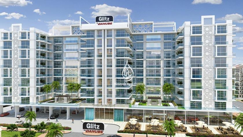Glitz 3 Apartments for Sale in Dubai Studio City by Danube Properties