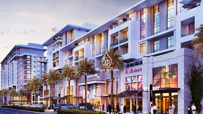 Warda Apartments in Town Square Dubai