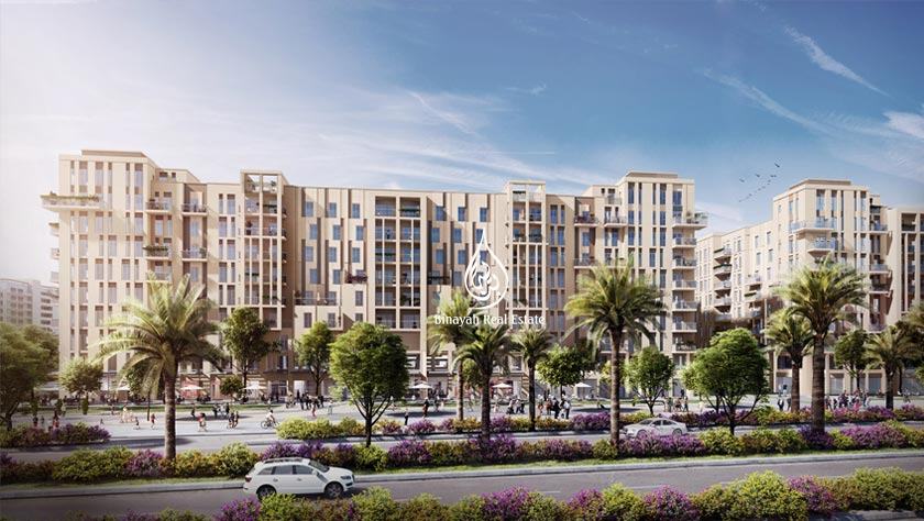 Zahra Breeze Apartments in Town Square by Nshama