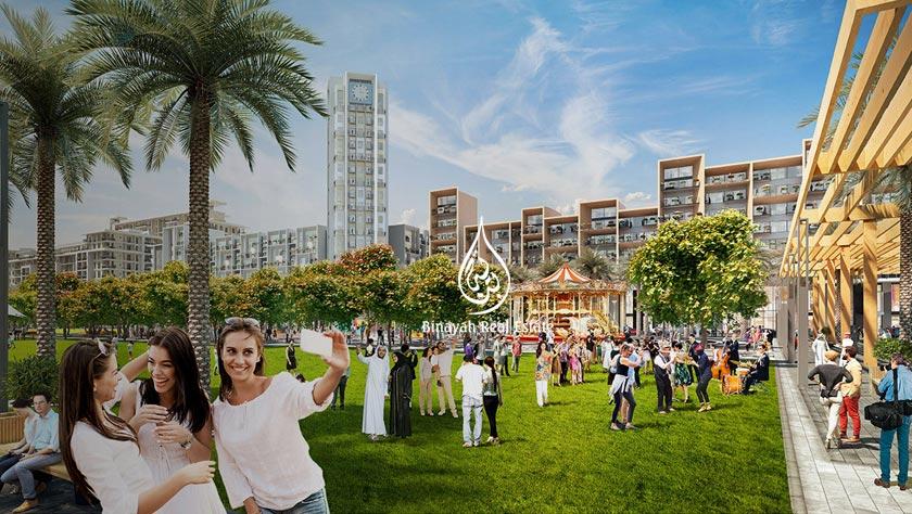 Nshama Town Square Dubai Off Plan Properties
